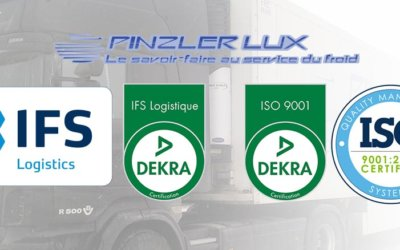 ATTAINING CERTIFICATIONS :  IFS LOGISTICS VERSION 2.2 AND ISO 9001 VERSION 2015